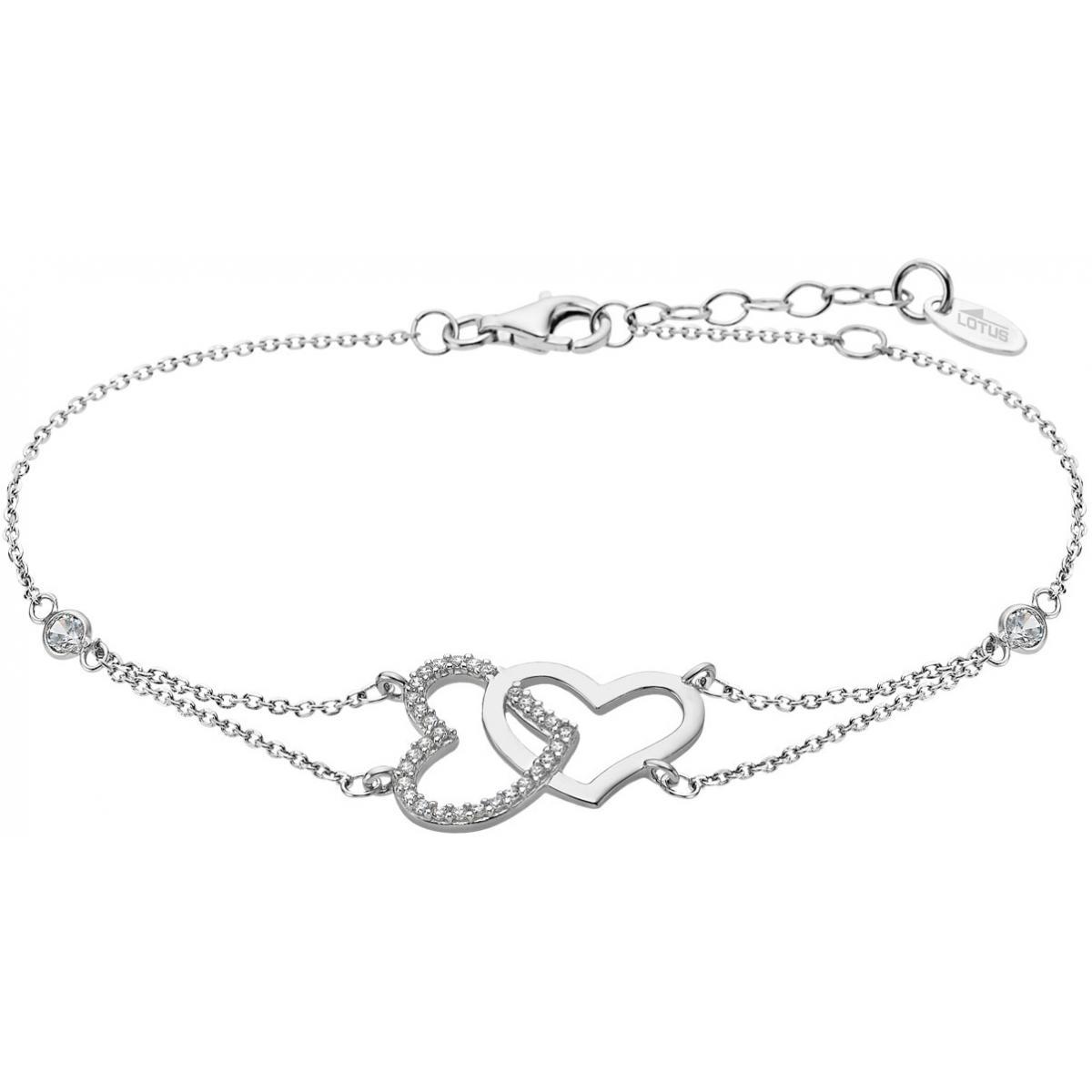 bracelet argent lotus