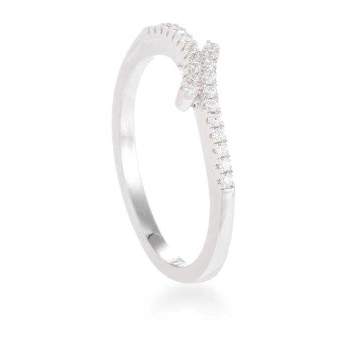 Luxenter Bague Xiho Argent T210700 T210700-58 Luxenter