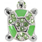 Morellato - Charm Tortue Email - Bijoux charms vert