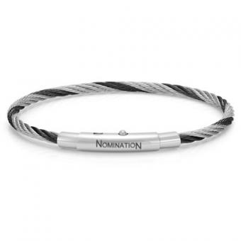 Nomination - Bracelet Simple Noir - Nomination