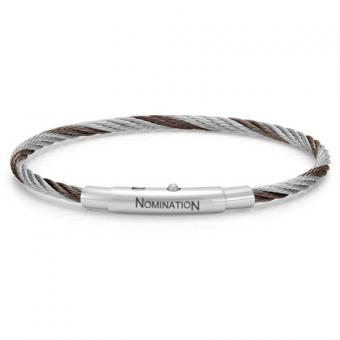 Nomination - Bracelet Simple Marron - Nomination