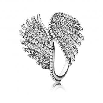 Bague Plumes Majestueuses