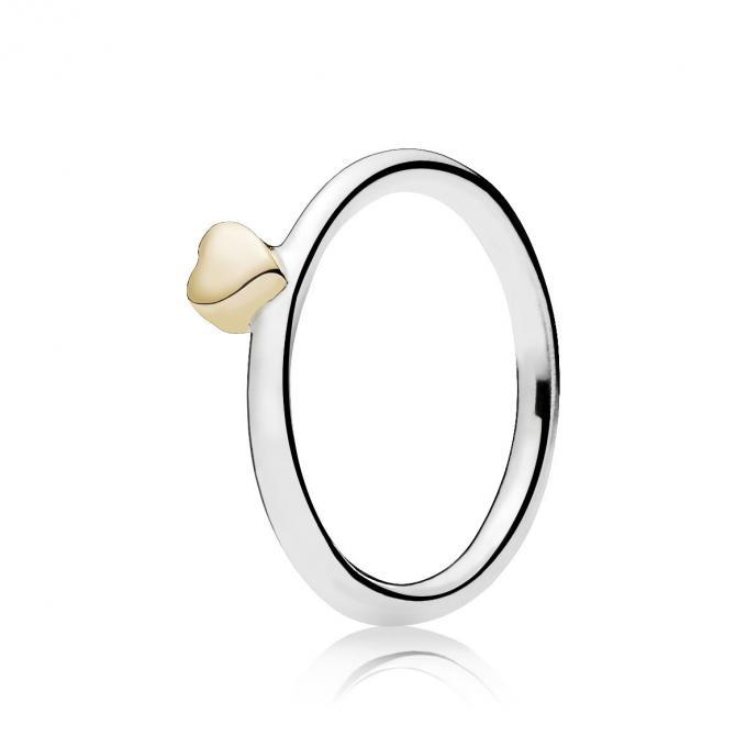 Bague Coeur Mysterieux Pandora Bague Sur Lookeor