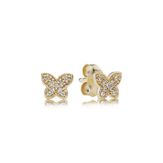boucle d oreille pandora papillon