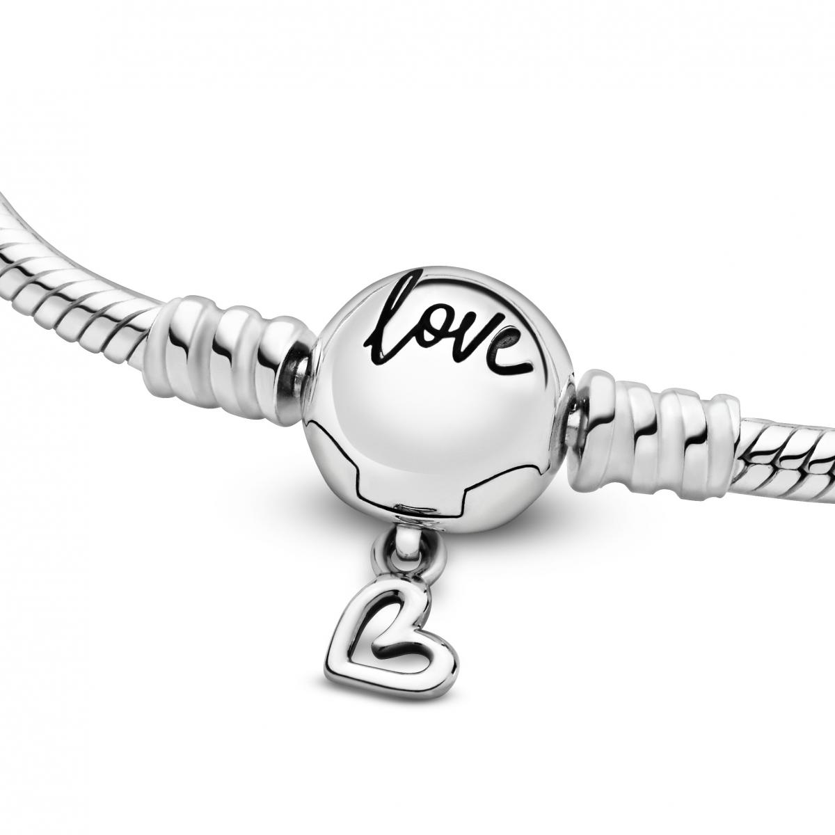 bracelet coeur pandora
