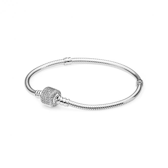 Pandora Bracelet Moments en Argent Fermoir Signature 590723CZ-16