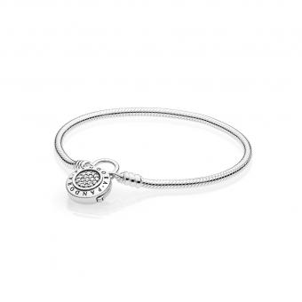 Pandora - Bracelet Moments en Argent Cadenas Signature PANDORA - Collection pandora printemps 2018