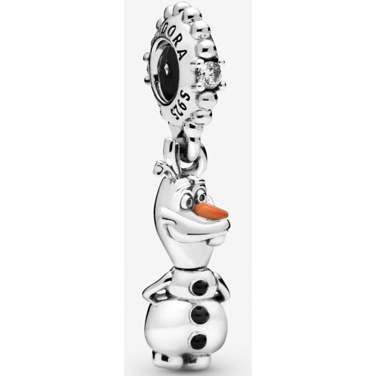 Charm Pandora 798455C01 - Pendant Disney La Reine des Neiges Olaf Argent