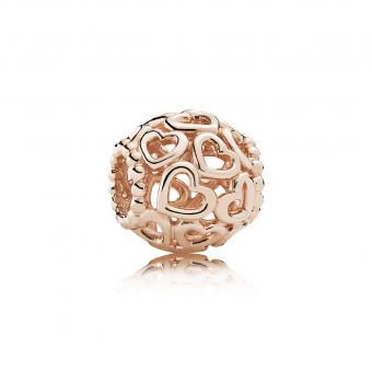 Pandora - Charm Ouvre Ton Coeur Rose - Charms noel
