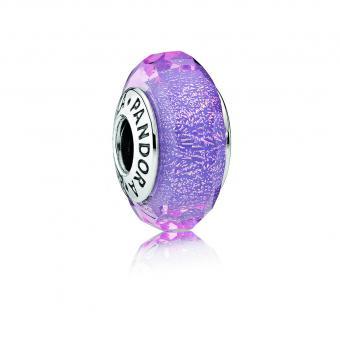 Pandora - Charms Murano Violet Iridescent Femme
