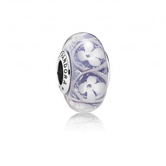 Pandora Charm Murano Floral Violet 791667