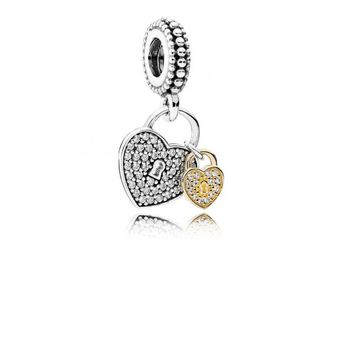 Charm pendentif amour
