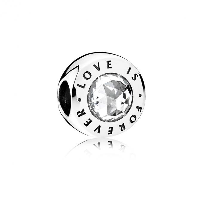 Pandora Charm Love is Forever 791813CZ Pandora