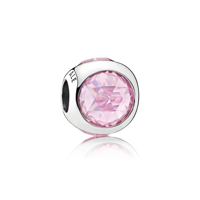 pandora perle famille rose