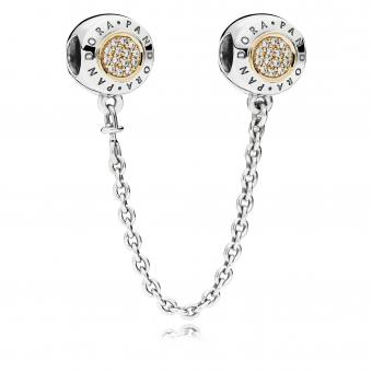 Pandora - Charm Signature Bicolore - Charms or