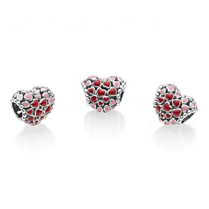 5d5851a9a Charm Explosion d'Amour Pandora - Charms et perles