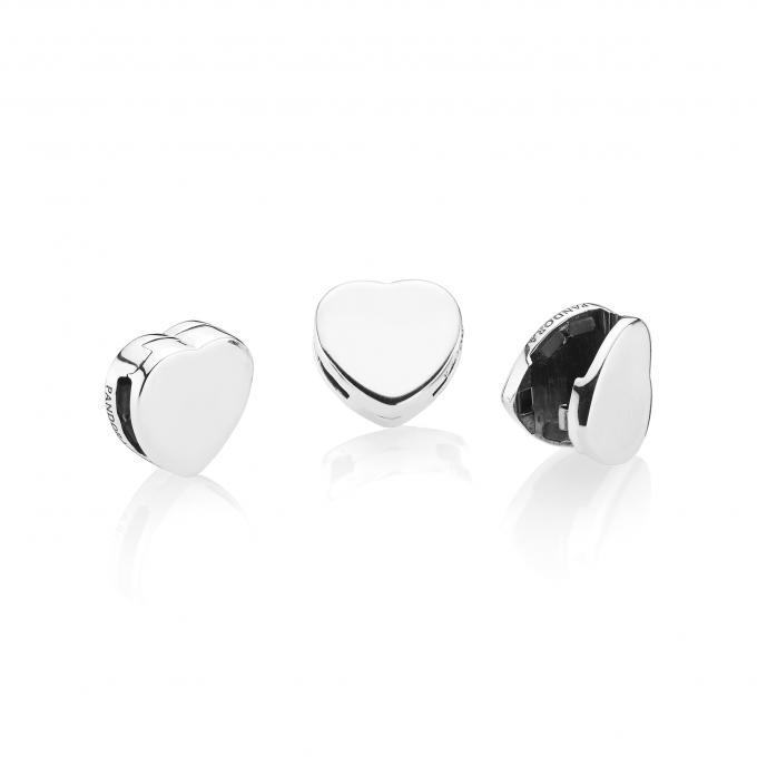 charm clip coeur pandora