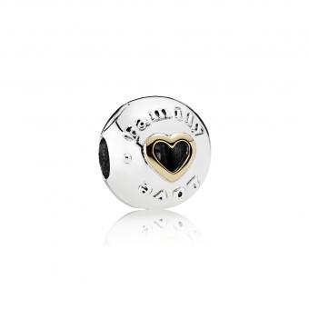 Pandora - Charm Hommage Famille - Charms pandora or