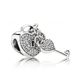 Pandora - Charm Pandora Moments de vie 791429CZ - Charms pandora moments