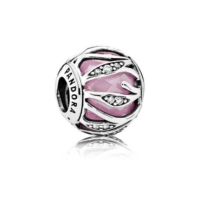 charms pandora rose pale