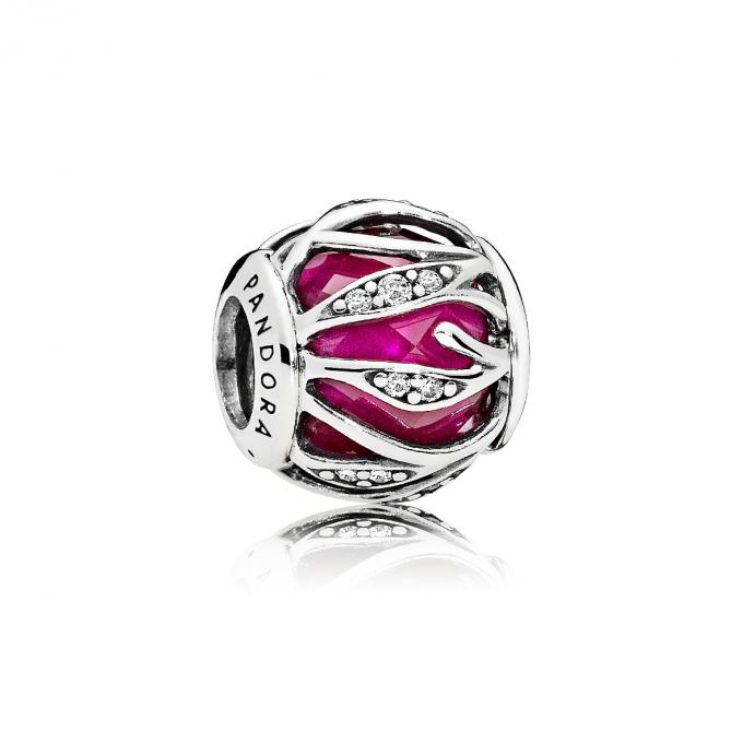 Pandora Charm Éclat Naturel Rouge Royal 791969SRU Pandora