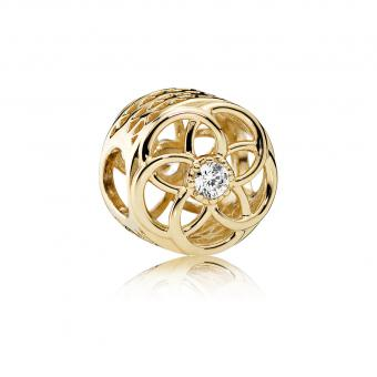 Pandora - Charm Eclosion d'Amour - Charms or