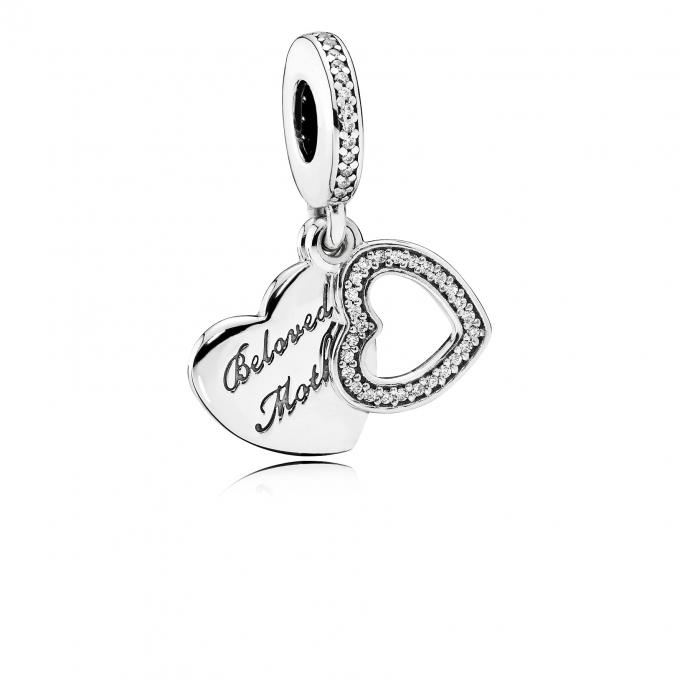Pandora Charm Beloved Mother 791883CZ Pandora