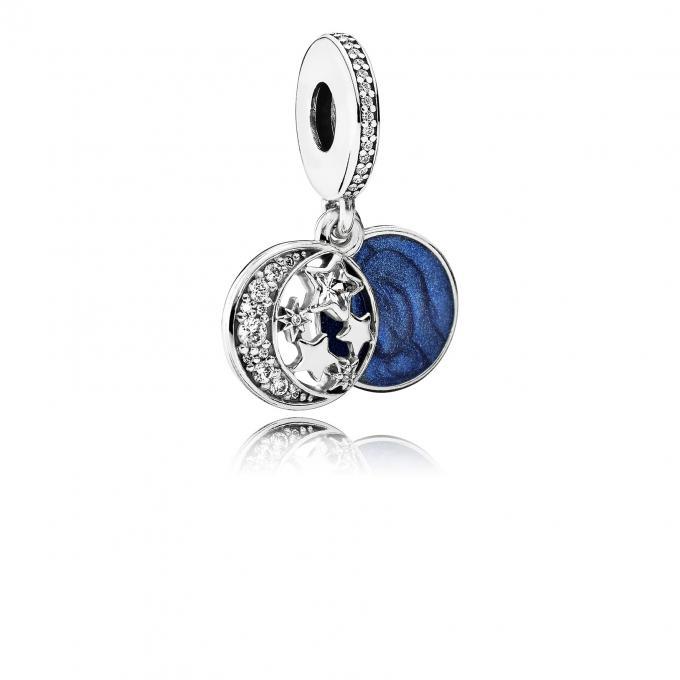 1cc2925b3cb Pendentif Ciel de Nuit Vintage Pandora - Charms et perles
