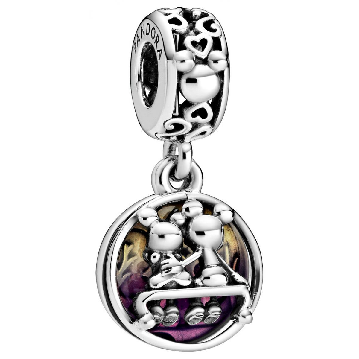 Pandora Charm Pendant Disney 798866C01 - Mickey et Minnie Happily Ever After 798866C01 Pandora