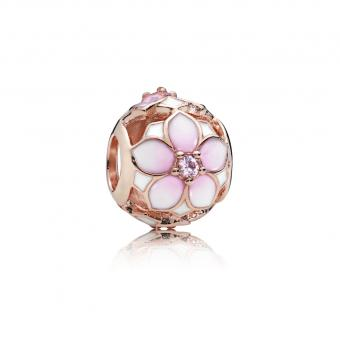 Pandora - Charm Fleur de Magnolia - Collection pandora printemps 2018