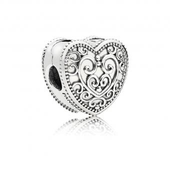 Pandora - Clip Coeur Enchanté - Collection pandora printemps 2018