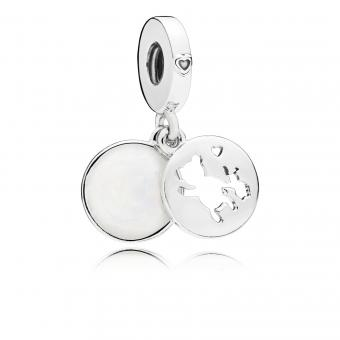 Pandora - Charm pendentif Duo de Rêve - Collection pandora printemps 2018