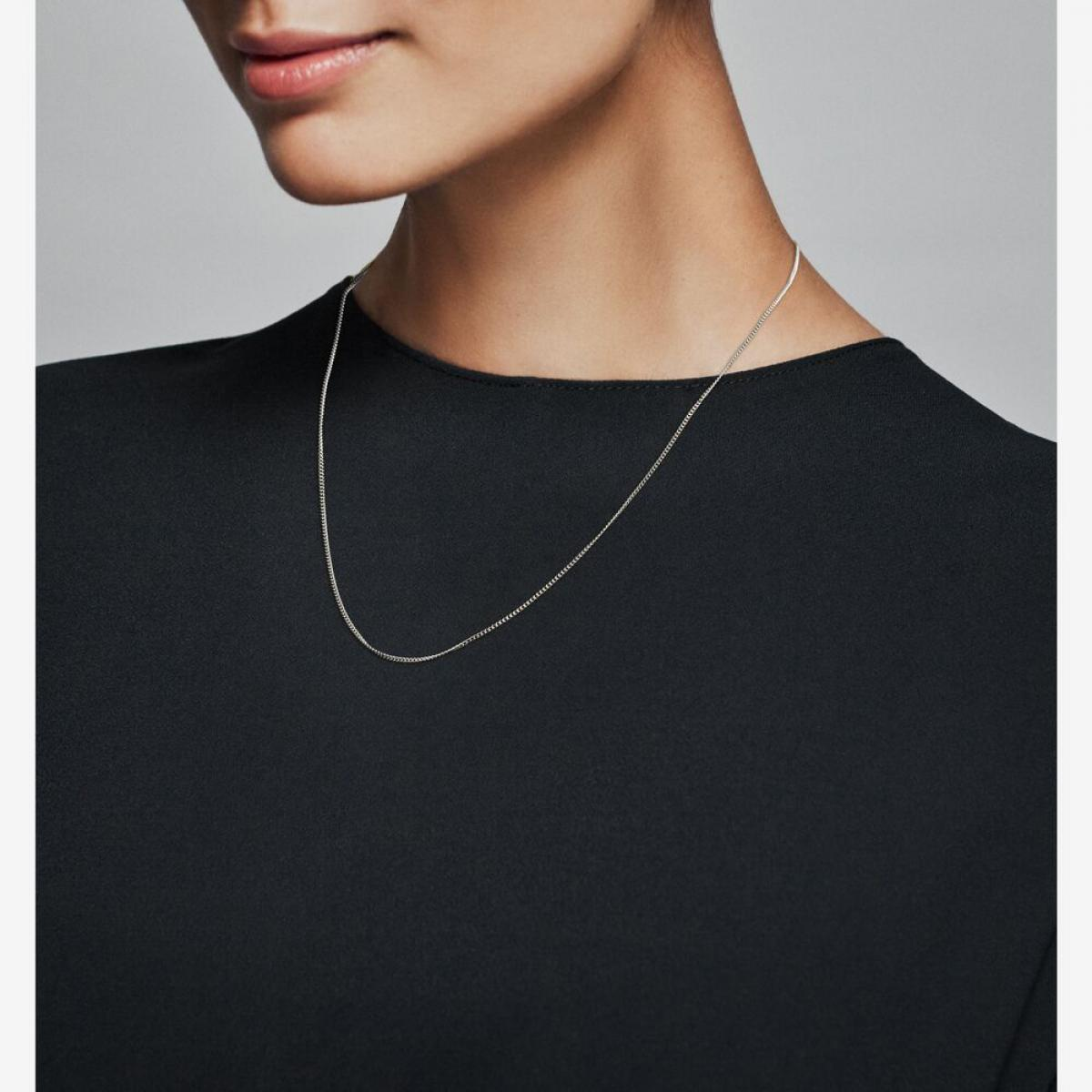 collier argent femme pandora