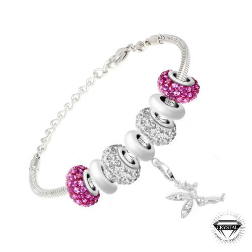 So Charm - SB050+29+43+31+44+CH167+31+43+29 - Bijoux charms rose