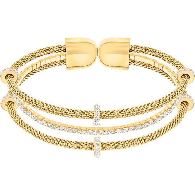 Bijoux Acier Bracelet 5271706 Doré Multitour Femme Swarovski Plus D'infos oxQdCBeWr