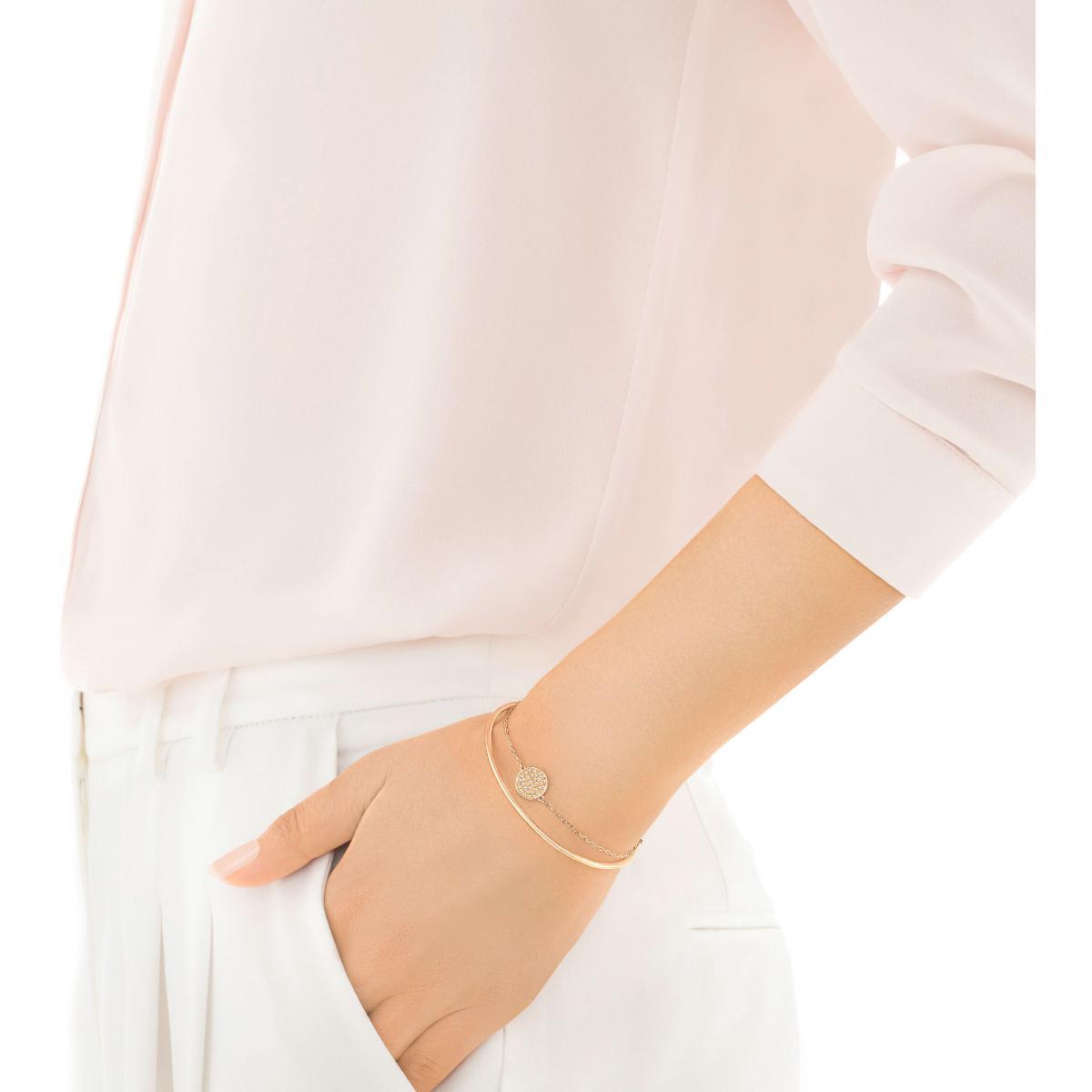 Bracelet Swarovski Bijoux 5274892 - Or Rose Cristaux Femme