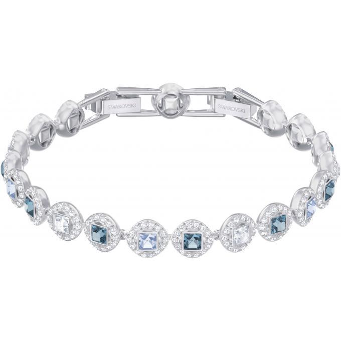 bracelet cristaux m tal rhodi 5289514 swarovski bracelet sur look or. Black Bedroom Furniture Sets. Home Design Ideas