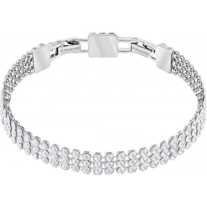 bracelet cristaux m tal 5363516 swarovski bracelet sur look or. Black Bedroom Furniture Sets. Home Design Ideas