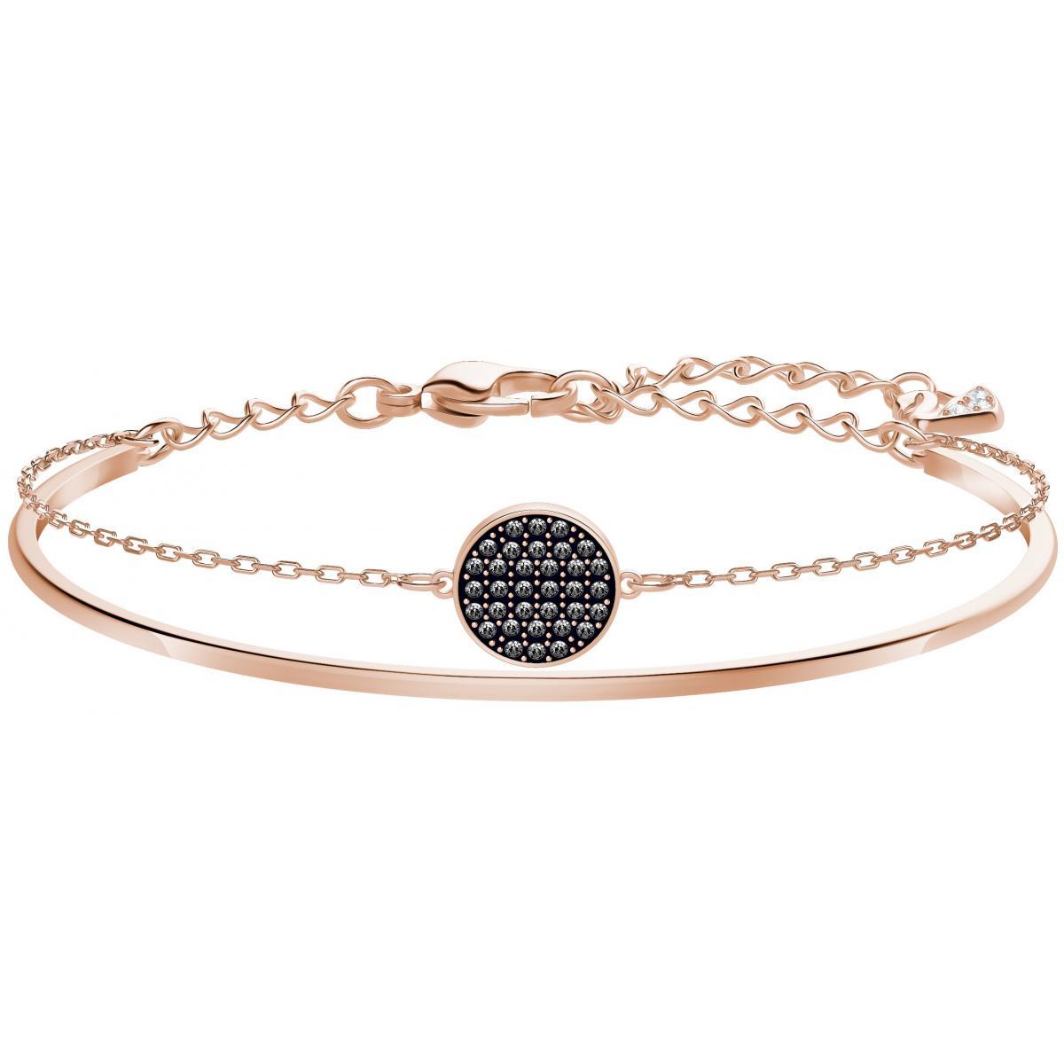 Bracelet Swarovski Bijoux GINGER-BANGLE-CRYINI-ROS Femme