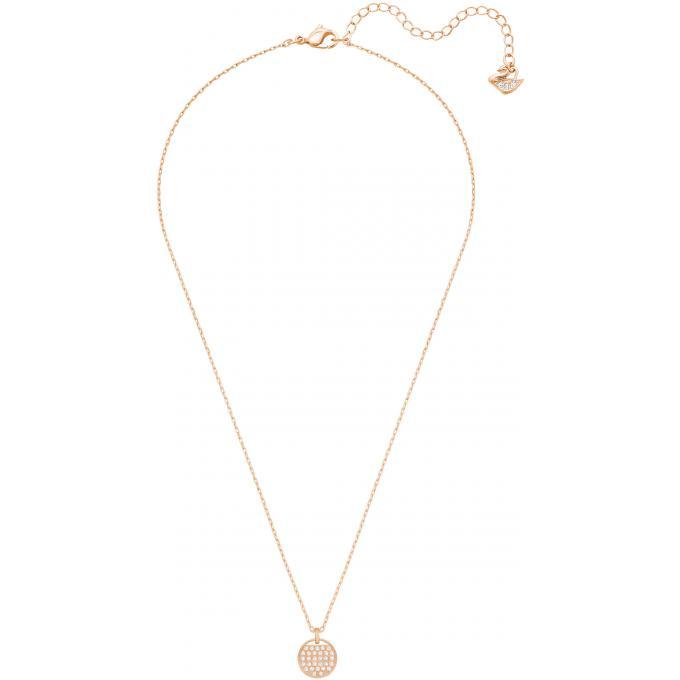 898183d8caa01 Collier et pendentif Swarovski Bijoux 5265913 - Plaque Or rose Femme ...