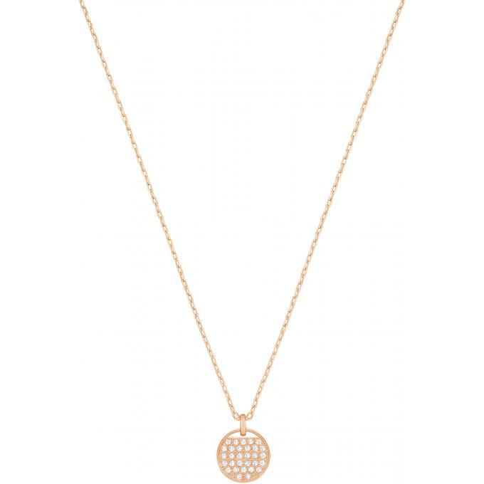 se connecter comment avoir de style élégant Collier et pendentif Swarovski Bijoux 5265913 - Plaque Or rose Femme Plus  d'infos