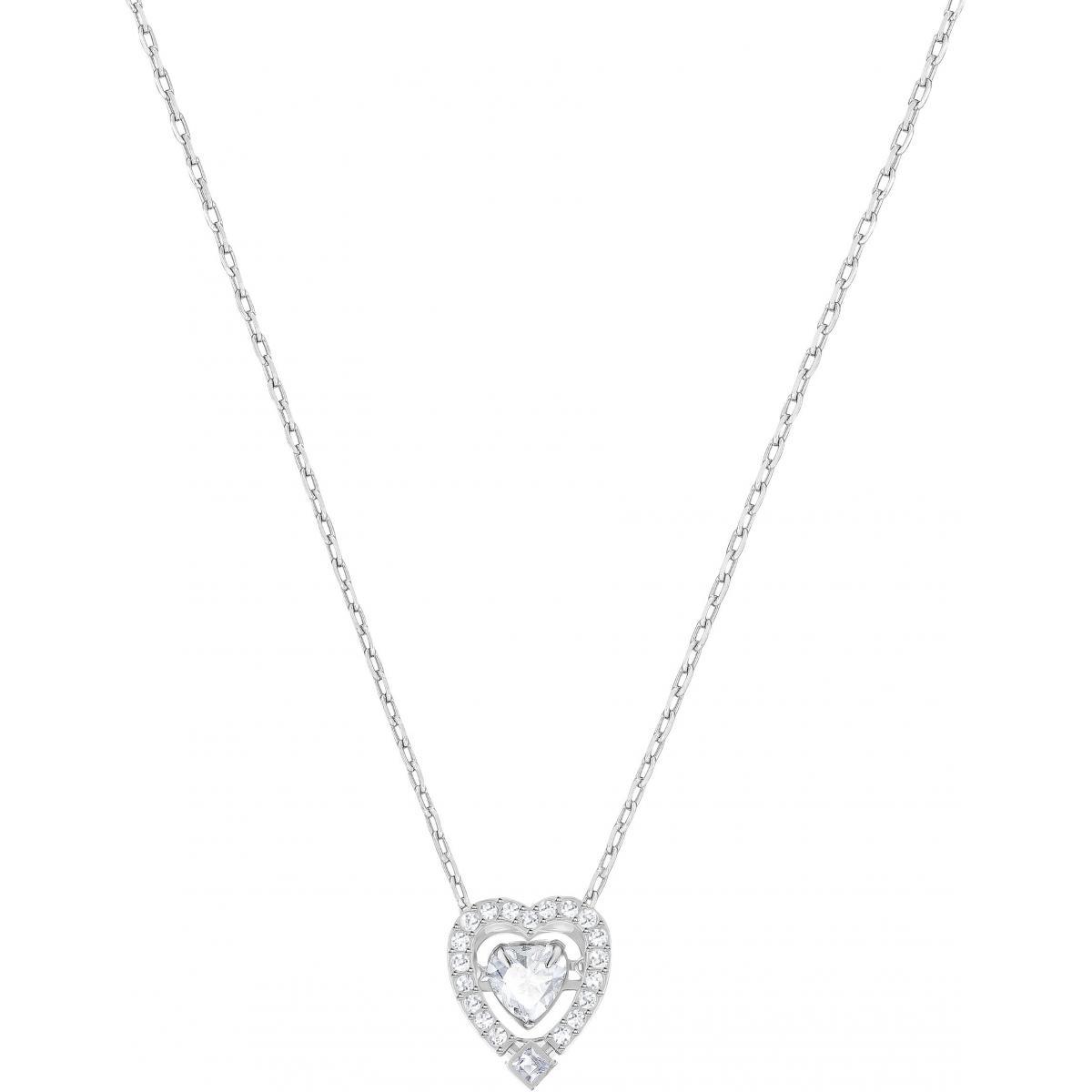 Collier et pendentif Swarovski Bijoux 5272365 - Cœur Serti Femme