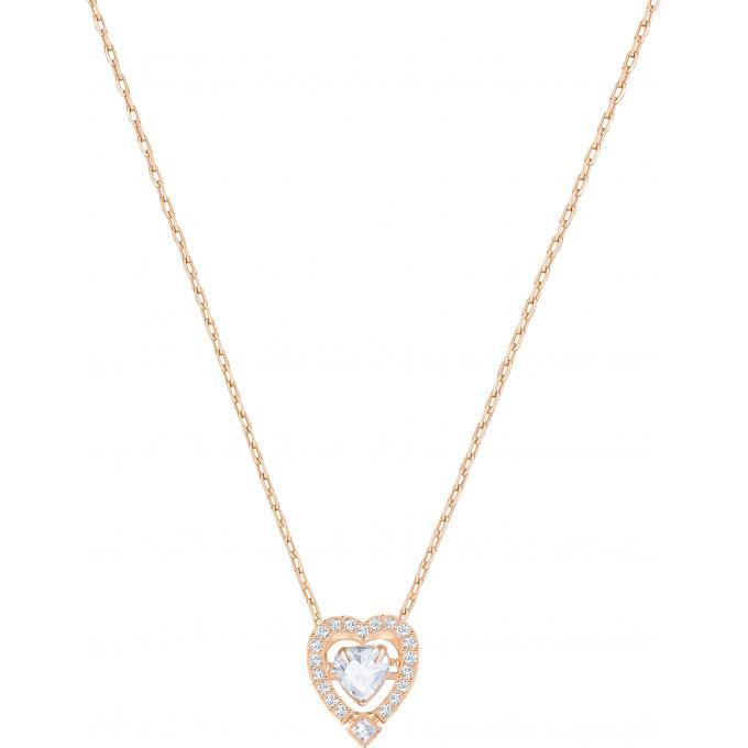 acheter pas cher 6b09e 84a79 Collier et pendentif Swarovski Bijoux 5284188 - Chaine Cœur Sertie Femme  Plus d'infos