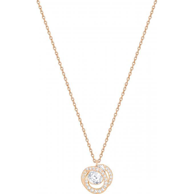 Top Collier et pendentif Swarovski Bijoux 5289025 - Chaîne Cristal  BM83