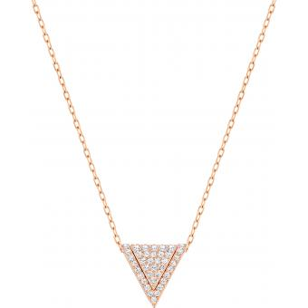 Swarovski - Collier et pendentif Triangle Or Rose - Promotions Bijoux Charms