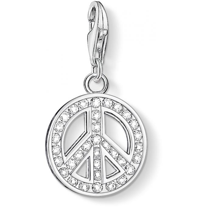 Thomas Sabo Charms Peace Serti Femme 0075-051-14 Thomas Sabo