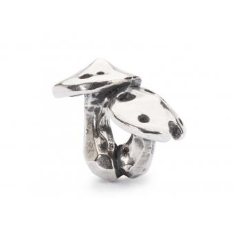 Trollbeads Charm Champignon Argent Femme TAGBE-20108