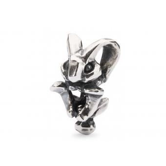 Trollbeads Charm Lapin Argent Femme TAGBE-20114