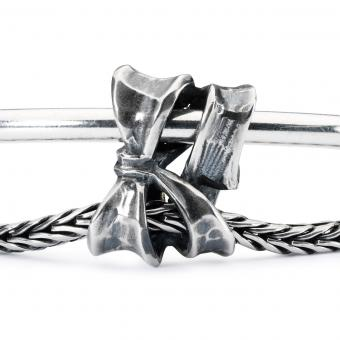 Trollbeads Charm Nœud double Argent Trollbeads Argent TAGBE-30134