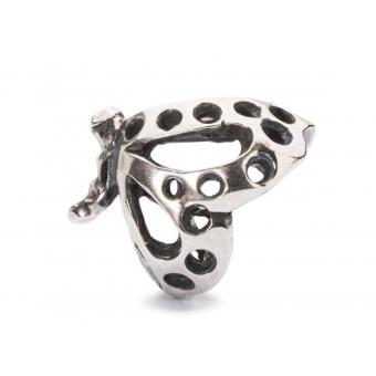 Trollbeads Charm Papillon Argent Femme TAGBE-10102